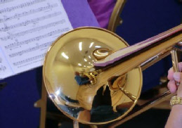 Trombone from West Oxfordshire Winds